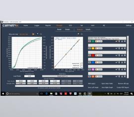 Calmetrix CalCommander Software I-Cal Strength - Vorhersage der Druckfestigkeit