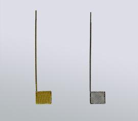 Arbeitselektroden für die Dünnschicht-Messzelle SEC-C