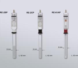 Unterschiedliche Quecksilber-basierte Referenzelektroden