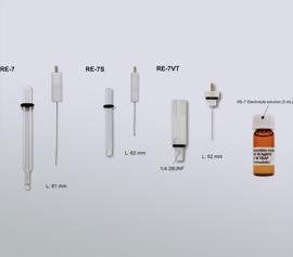Verschiedene Ausführungen von nicht-wässrigen Referfenzelektroden für unterschiedliche Einsatzzwecke width=
