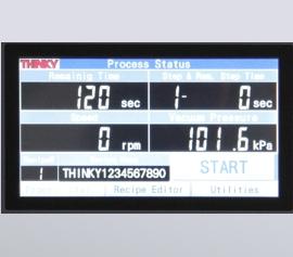 ARV-310P mit Touch-Panel anstelle Display mit Tasten