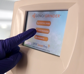 Zellaufschluss-Mühle SPEX 2010 Geno/Grinder® Touchscreen