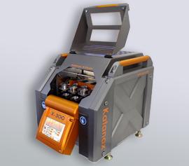 Elektrisches Schmelzaufschlussgerät Fluxer X-300 von Katanax - modularer Aufbau mit 1-3 Positionen zur Probenvorbereitung für die RFA, ICP und AA
