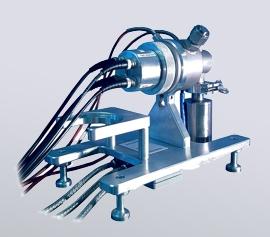 Leitfähigkeitsmesszelle für Membranen (Protonen- und Ionenleitfähigkeit) width=