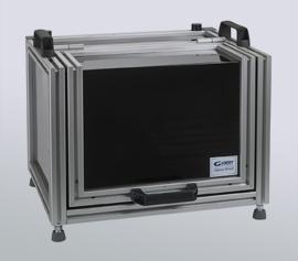 Faradayscher Käfig und gleichzeitige Dunkelkammer zur effektiven Beseitigung von elektrischen- oder elektromagnetischen Störsignalen