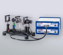 Synchronisierte Regelung / Messung von Anregungs-LED und Farbstoffsolarzelle mit einem Bipotentiostaten-System