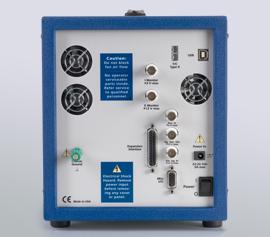 Gamry Reference 3000 Potentiostat/Galvanostat/ZRA mit analogen- und digitalen Aus- und Eingängen (I-Monitor, E-Monitor, K-type thermocouple input, Aux-in, Signal Generator Out, External Signal In, Misc. I/O with 4x Digital-Ins and 4x Digital-Outs and 1x Analog Out) und der Ref30k Booster-Erweiterungsschnittstelle incl. schwebende Masse (galv. Trennung von der Schutzerdung)