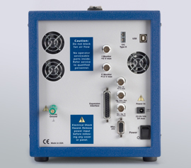 Gamry Reference 3000AE Potentiostat/Galvanostat/ZRA mit analogen- und digitalen Aus- und Eingängen (I-Monitor, E-Monitor, K-type thermocouple input, Aux-in, Signal Generator Out, External Signal In, Misc. I/O with 4x Digital-Ins and 4x Digital-Outs and 1x Analog Out) und der Ref30k Booster-Erweiterungsschnittstelle incl. schwebende Masse (galv. Trennung von der Schutzerdung)