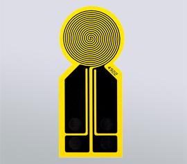 Hot Disk Sensor – Standard mit Kaptonisolierung width=
