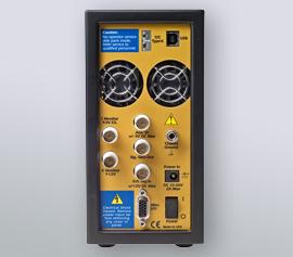 Gamry Reference 600+ Potentiostat/Galvanostat/ZRA mit analogen- und digitalen Aus- und Eingängen (I-Monitor, E-Monitor, K-type thermocouple input, Aux-in, Signal Generator Out, External Signal In, Misc. I/O with 4x Digital-Ins and 4x Digital-Outs and 1x Analog Out) incl. schwebende Masse (galv. Trennung von der Schutzerdung)