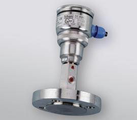Druckaufnehmer mit Membran aus Kunststoff oder Titan zum Anschluss an Glasanlagen