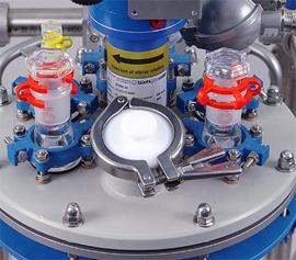 Explosionsgeschützte Rührwellendichtung am Beispiel des MiniPilot Glasreaktors mit 2 bis 15 Liter Volumen