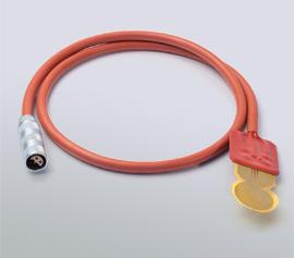 Hot Disk Kapton-Sensor mit Silikonkabel für Messungen bis 180°C und Lemo-Stecker