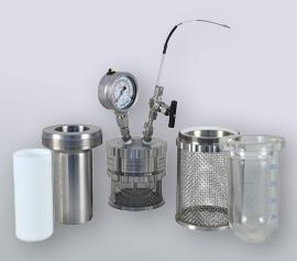 miniclave mit austauschbaren Reaktoren - setzen Sie Glas, Stahl oder PTFE-Inliner ein