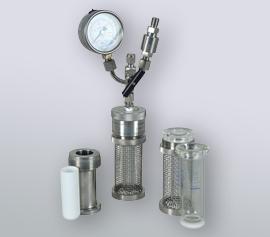 tinyclave mit austauschbaren Reaktoren - setzen Sie Glas, Stahl oder PTFE-Inliner ein