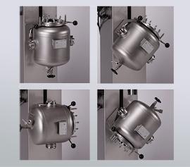 Hydraulischer Lift mit Schwenkfunktion - alle 45° fixierbar