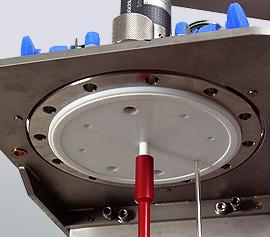 metallfreier Reaktor mit PTFE plattierter Deckelplatte