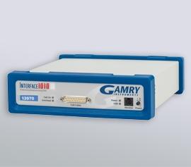 Gamry Interface 1010 Potentiostat/Galvanostat/ZRA für die Applikationen Korrosion, galvanische Beschichtungen (DC), elektrochemische Energiespeicherung und -umwandlung (PWR) sowie Halbleiter, Solarzellen und Sensoren (EIS) incl. schwebende Masse (galv. Trennung von der Schutzerdung)