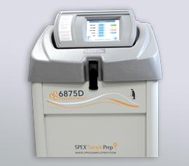 SPEX Kryomühle 6875D Freezer/Mill® mit geschlossenem Deckel, betriebsbereit