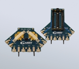 Gamry Low Inductivity Battery Holders (Dual-CR2032 / Dual-18650) width=