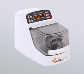 Zellaufschluss-Mühle SPEX 1200 GenoLyte® mit geschlossenem Deckel, betriebsbereit, Seitenansicht width=