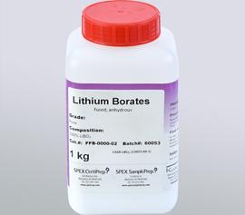 SPEX Sampleprep Katanax XFP-01 FluxPenser® - SPEX Sampleprep Schmelzmittel Lithiummetaborat, FFB-0000-02, 100%LiBO2, pure grade