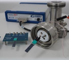 "Elektrochemie im Druckreaktor – Büchi Autoklav ""minyclave"" mit Gamry Potentiostat ""Interface 1010"" und Elektrode width="